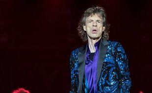 La rockstar Mick Jagger