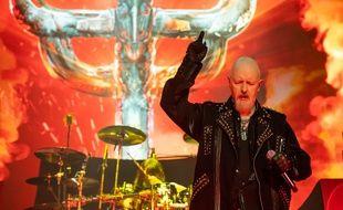 Judas Priest en concert à Lisbonne le 2 juillet dernier.
