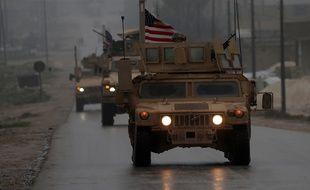 Les troupes militaires américaines ont commencé leur retrait de Syrie, le 30 décembre 2018, après l'annonce du président Donald Trump.
