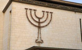 Synagogue de Strasbourg le 11 01 07 Exterieur de la Synagogue de Strasbourg le 11 01 07