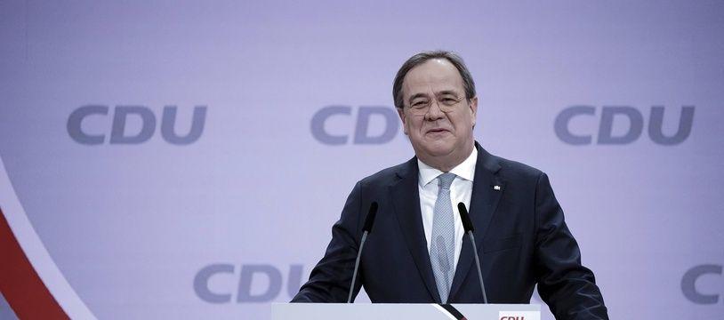 Armin Laschet a été élu à la tête de la CDU en Allemagne.