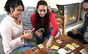 Une partie de Teropaïpaï, le nouveau jeu de la start-up Dr. Jonquille & Mr. Ail.