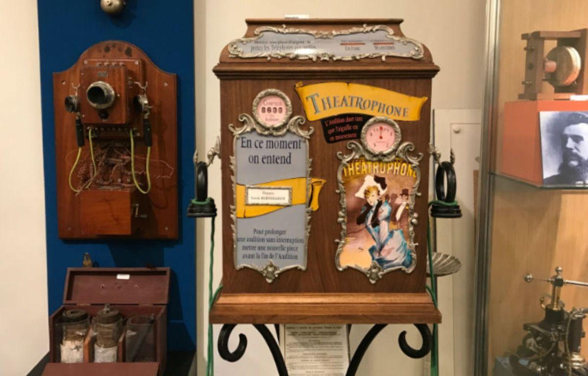 Dès 1881, le Théâtrophone de Clément Ader permettait d'écouter en direct des spectacles. – CHRISTOPHE SEFRIN/20 MINUTES