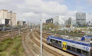 Illustration train gare Lille Flandres ter, voies, ferrées, rff, euralille