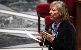 Sophie Cluzel à l'Assemblée Nationale en 2019.