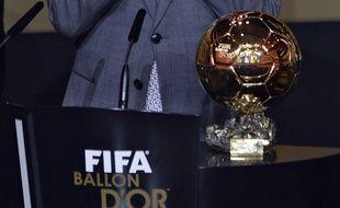 Le Ballon d'or Fifa, le 13 janvier 2014 à Zurich.