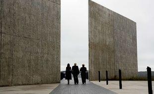 Donald et Melania Trump se sont recueillis sur le mémorial dédié aux victimes du vol 93, en Pennsylvanie, le 11 septembre 2018.