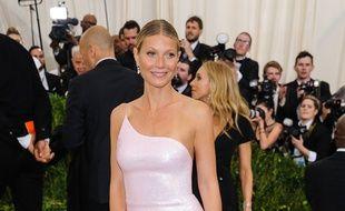 L'actrice Gwyneth Paltrow au Met Gala 2017