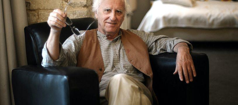 Gérard Fromanger dans son atelier le 13 juin 2008