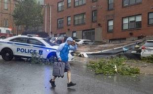 Halifax, la capitale de la Nouvelle-Ecosse, a subi les conséquences de Dorian.