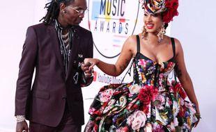 Le rappeur Offset et son épouse Cardi B