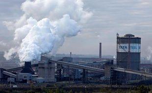 L'usine du groupe Tata Steel à Scunthorpe en Angleterre, le 22 décembre 2015