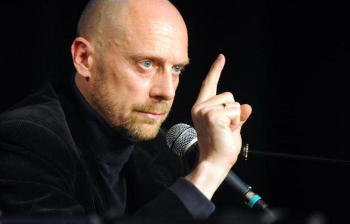 L'auteur d'extrême-droite Alain Soral le 4 juin 2009 à Paris – Boris Horvat AFP