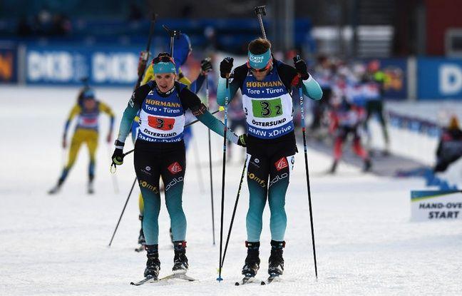 Biathlon EN DIRECT: Les premiers pas de Fourcade et des Bleus cette saison.. Suivez le relais mixte avec nous