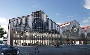 La future Cité des start-up va voir le jour dans les anciennes halles Latécoère à Montaudran.