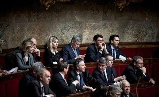 Des députés lors d'une séance parlementaire, le 1er février 2017.