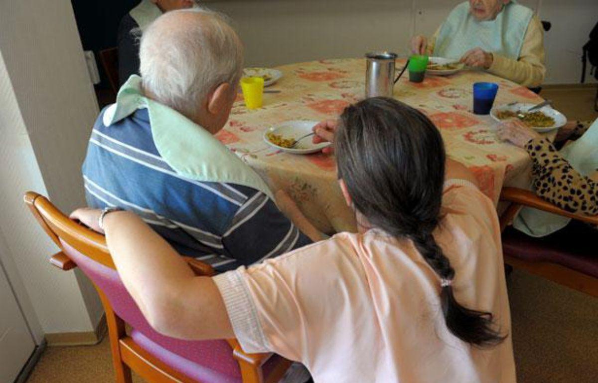 A la maison de retraite de la Kachelofe à la Meinau. – GILLES VARELA / 20 MINUTES