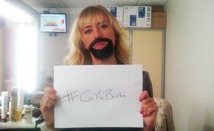 Enora Malagré lance le mouvement #CaMeBarbe