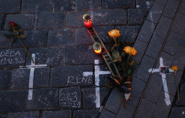 648x415 hommage improvise victimes covid 19 prague 29 mars 2021
