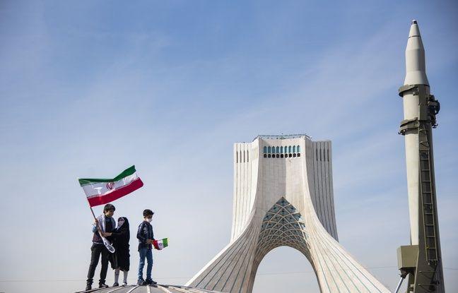 648x415 un missile lors du 42e anniversaire de la revolution iranienne a teheran le 10 fevrier 2021