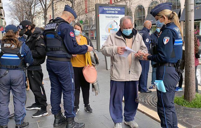 Confinement à Nice: Avec les nouvelles restrictions, «finie la pédagogie, on sanctionne», préviennent les policiers