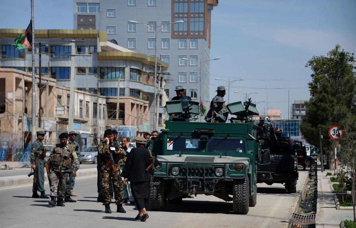 L'attentat a visé le consulat allemand à Mazar-i-Sharif, dans le nord du pays (illustration). – FARSHAD USYAN / AFP