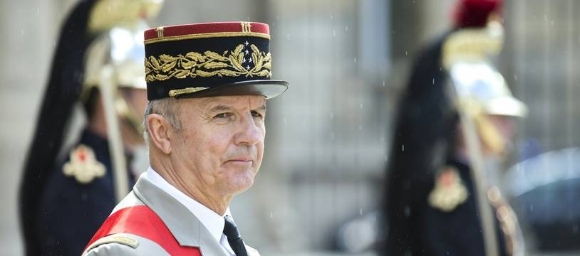 Le grand chancelier de la Légion d'honneur Jean-Louis Georgelin, le 26 avril 2016.