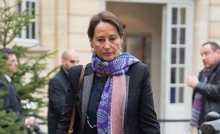 Ségolène Royal à Matignon le 8 janvier 2015.