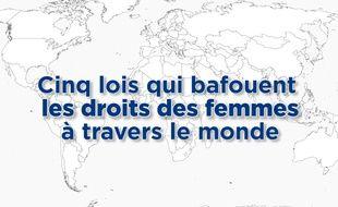 Cinq lois qui bafouent le droit des femmes