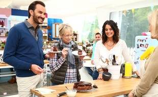 Cyril Lignac, Mercotte et Faustine Bollaert pour le Meilleur pâtissier sur M6