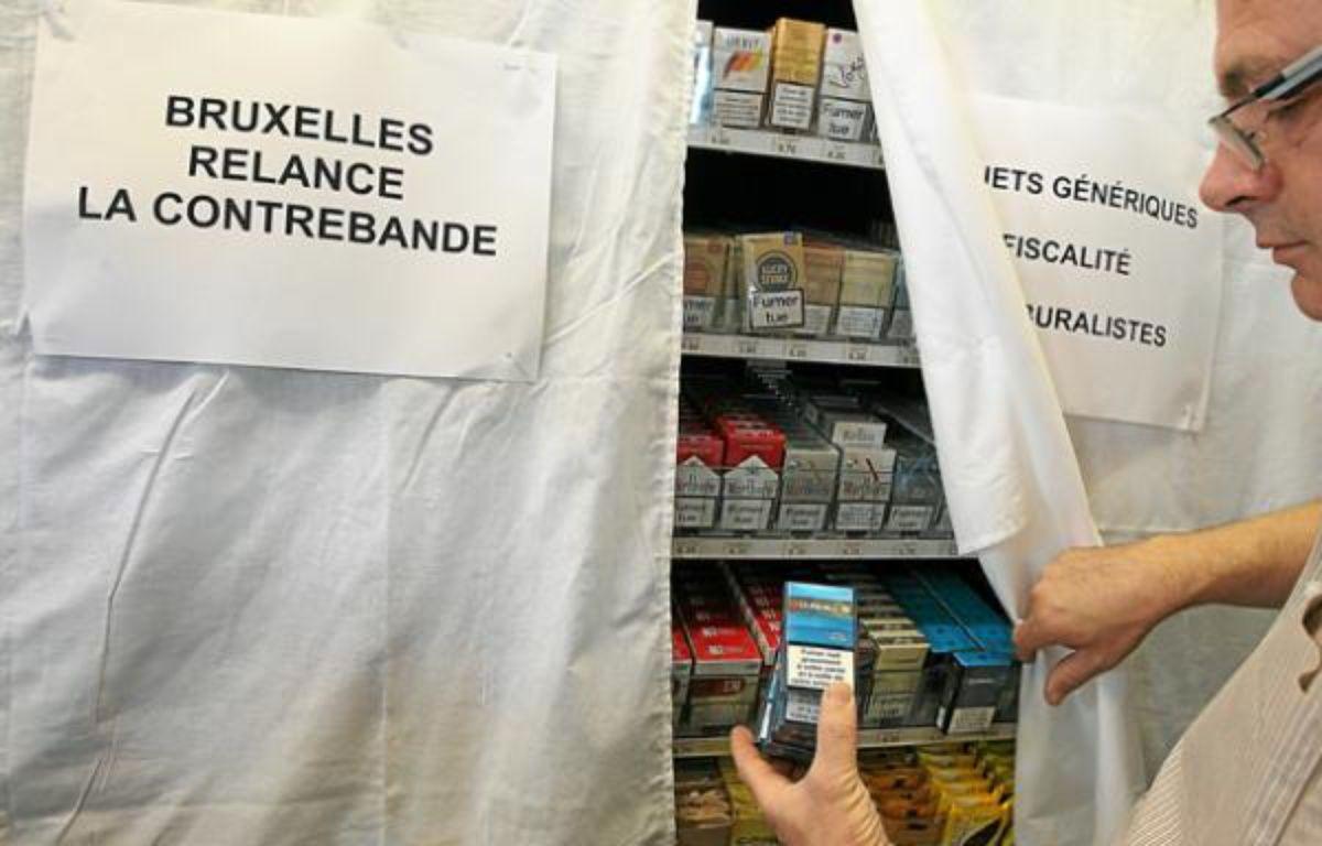 Nants (Loire-Atlantique), le 06/09/2012. Manifestation de buralistes contre le plan anti tabac du gouvernement. – F. Elsner / 20 Minutes
