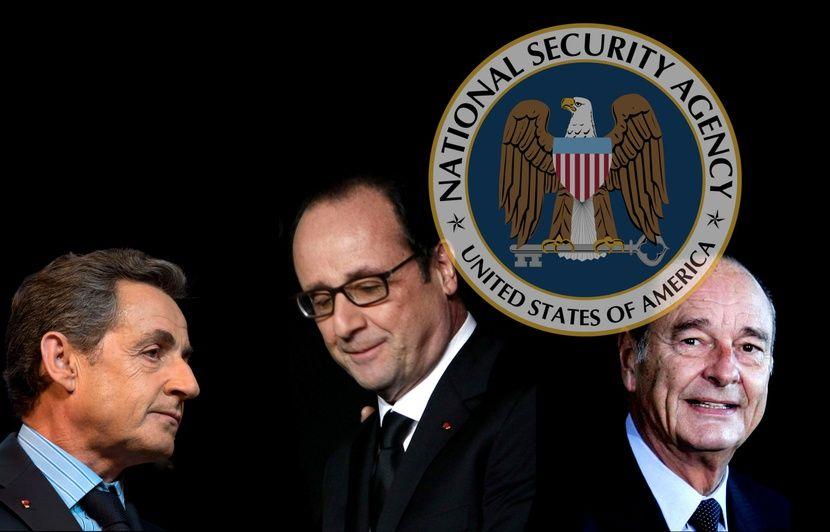 VIDEO. Présidents français espionnés: La NSA a mis sur écoute Chirac, Sarkozy et Hollande