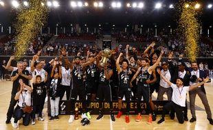 L'ASVEL fête son 20e titre de champion de France, ce samedi à Rouen.