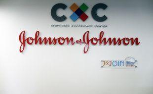 Le logo de la firme Johnson & Johson en 2011 (image d'illustration).