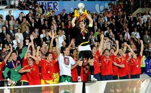 L'Espagne a remporté l'Euro 2008 à Vienne en Autriche.