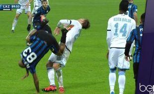 Felipe Melo dans ses œuvres avec l'Inter.