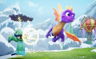 Spyro le dragon, héros culte de la fin des années 90 revient dans une trilogie remasterisée.