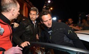 Jérôme Kerviel a été arrêté par deux policiers en civil, dès son arrivée en France, le 18 mai 2014.
