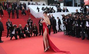 Bella Hadid au Festival de Cannes le 18 mai 2016