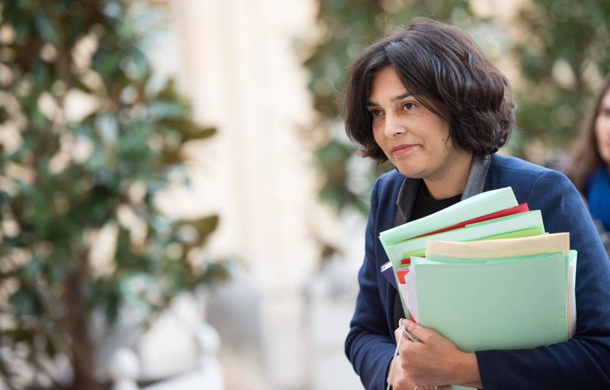 La ministre du Travail Myriam El Khomri, le 9 mars 2016, à l'Elysée. – CHAMUSSY/SIPA