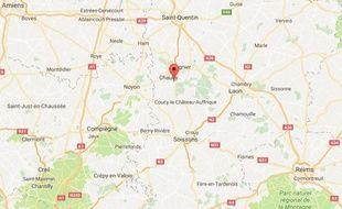 La commune de Sinceny, dans l'Aisne.