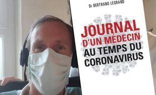 Portrait de Bertrand Legrand, médecin généraliste et auteur de Journal d'un médecin au temps du coronavirus.