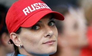 La Russe Yelena Isinbayeva, le 13 août 2013, à Moscou