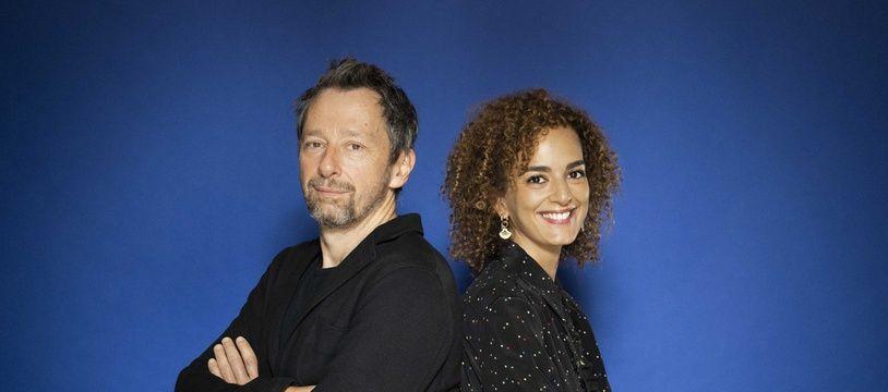 Clément Oubrerie et Leïla Slimani.