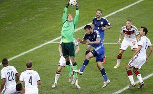 Manuel Neuer lors de la finale du Mondial 2014 le 13 juillet.