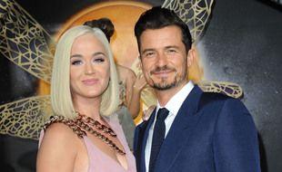 La chanteuse Katy Perry et son mari, l'acteur Orlando Bloom