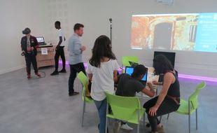 Le laboratoire numérique accueille les collégiens de Loire-Atlantique et leurs professeurs
