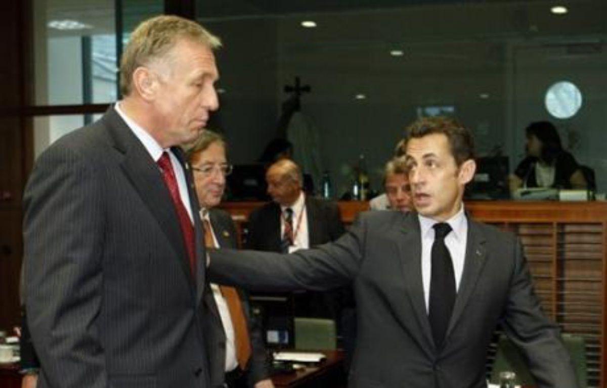 """Au sommet de Bruxelles, les 27 pays de l'Union européenne (UE) sont tombés d'accord pour prendre toutes les """"mesures nécessaires pour soutenir la croissance et l'emploi"""". Mais ils ne sont pas convaincus de l'opportunité d'un véritable plan de relance européen. – Pascal Rossignol AFP"""