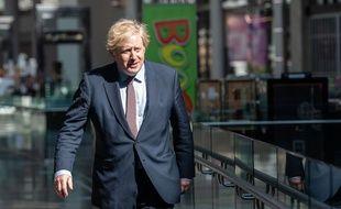 Le Premier ministre Boris Johnson à Londres le 14 juin 2020.