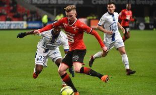 Benjamin Bourigeaud a fait beaucoup de bien au Stade Rennais quand il est entré en seconde mi-temps face à Troyes.
